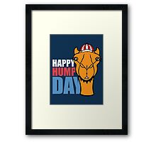 Hump Day - Wednesday Framed Print