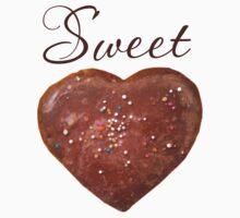 Sweet heart + choc heart One Piece - Long Sleeve