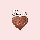 Sweet heart + choc heart by Gudrun Eckleben