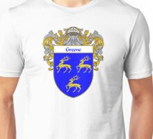 Greene Coat of Arms / Greene Family Crest Unisex T-Shirt