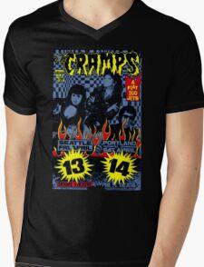 The Cramps (Seattle & Portland shows) Colour Mens V-Neck T-Shirt