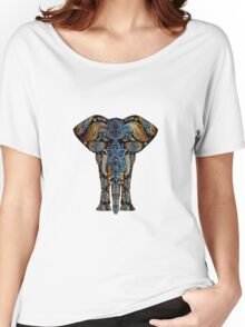 elephant decorative Women's Relaxed Fit T-Shirt