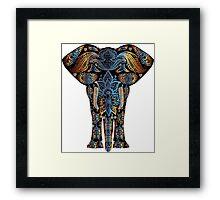 elephant decorative Framed Print