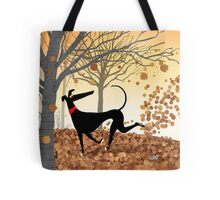 Autumn Hound Tote Bag