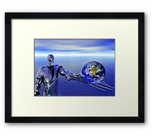Rise of the Machines Framed Print