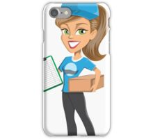 delivery women iPhone Case/Skin