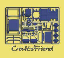 Craftsfriend - Model Car Kit Kids Tee
