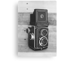 Vintage Yashicaflex TLR camera Canvas Print