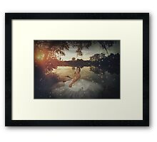The Princess and the Frog Framed Print