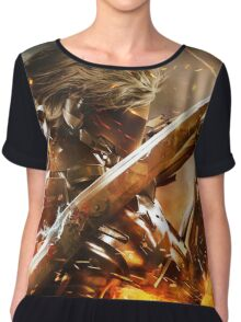 Metal Gear Rising Chiffon Top