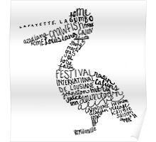 Lafayette Pelican Poster