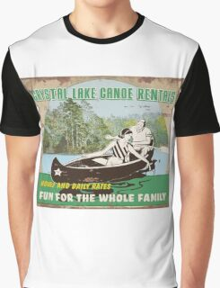 Crystal Lake Canoe Rentals Graphic T-Shirt