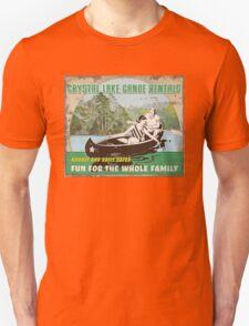 Crystal Lake Canoe Rentals Unisex T-Shirt