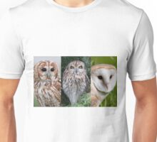 British Owls Unisex T-Shirt
