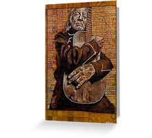 Willie's Guitar Greeting Card