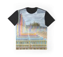 Beach Huts - Waiting for the Summer Graphic T-Shirt