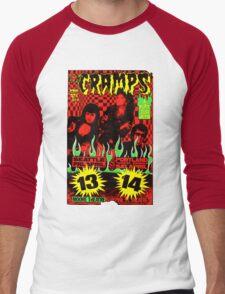 The Cramps (Seattle & Portland shows) Colour 2 Men's Baseball ¾ T-Shirt