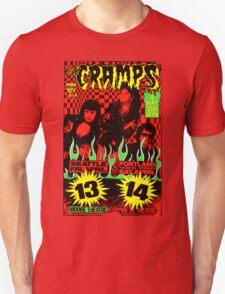 The Cramps (Seattle & Portland shows) Colour 2 Unisex T-Shirt