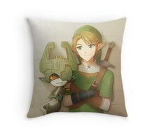[The Legend of Zelda] Link and Midna Throw Pillow
