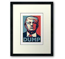 DUMP Framed Print