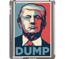 DUMP iPad Case/Skin