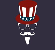Hipster Uncle Sam Unisex T-Shirt
