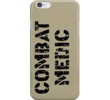 Combat Medic in tan iPhone Case/Skin
