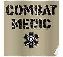 Combat Medic in tan Poster