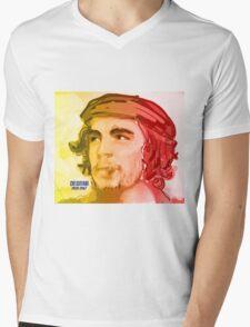 El Che Mens V-Neck T-Shirt