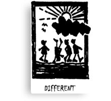 Are we just different? Canvas Print