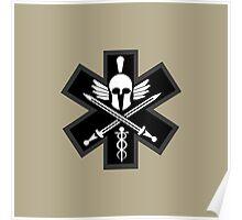 Combat Medic Emblem Poster