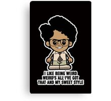 Lil Moss - Sweet Style Canvas Print