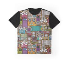 Electronic 80's Retro Devices Graphic T-Shirt