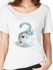 Alice in Wonderland - Cheshire Cat Women's Relaxed Fit T-Shirt