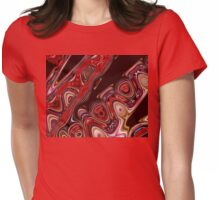 Octupus Tentacles Abstract  Womens Fitted T-Shirt