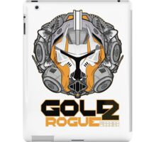 Star Wars GOLD 2 Rogue Warrior  iPad Case/Skin