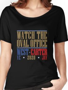 Watch The Oval Office - Multicolored Women's Relaxed Fit T-Shirt