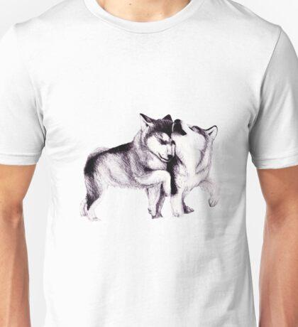 Husky Pups Unisex T-Shirt