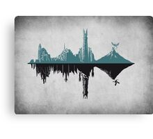 Middle-Hertz Duality Canvas Print