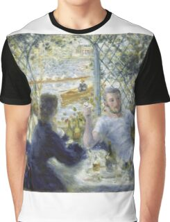 Renoir Auguste - Lunch At The Restaurant Fournaise The Rowers Lunch Graphic T-Shirt