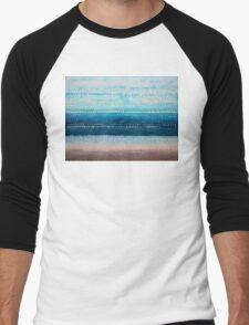 It's Got to Be the Water original painting Men's Baseball ¾ T-Shirt