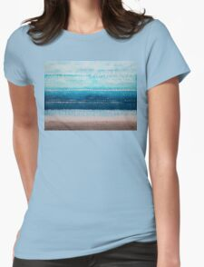 It's Got to Be the Water original painting Womens Fitted T-Shirt