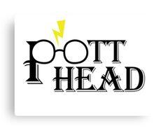 PotterHead Canvas Print
