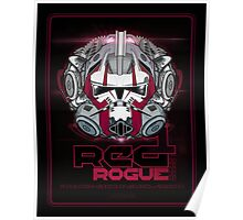 Star Wars RED 1 Rogue Leader - Deluxe Poster