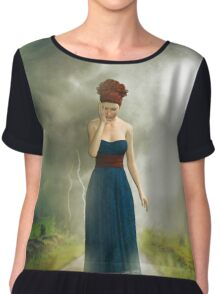 Between the clouds - depression Chiffon Top