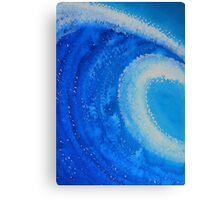 Barreled original painting Canvas Print