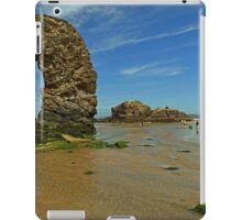 Arch Rock, Perranporth Beach iPad Case/Skin