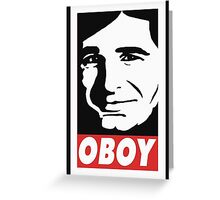 OBOY Greeting Card