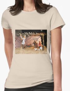 NATIVITY Womens Fitted T-Shirt