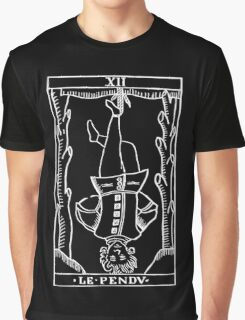 The Hanged Man in Reverse Graphic T-Shirt